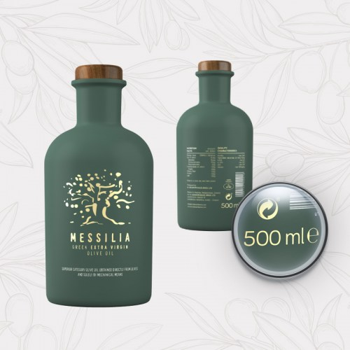 Messilia 500ml - Extra Virgin Greek Olive Oil